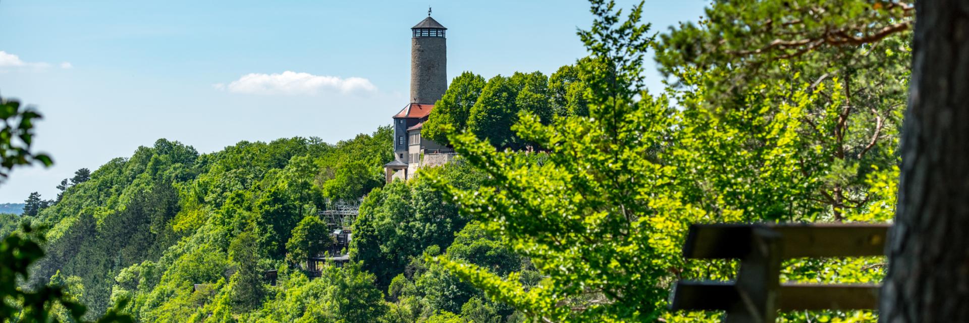 Fuchsturm Jena - Eins der Sieben Wunder Jenas © JenaKultur, Foto: Christian Häcker
