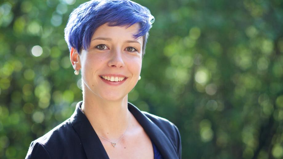 Portrait von Sarah Gehauf