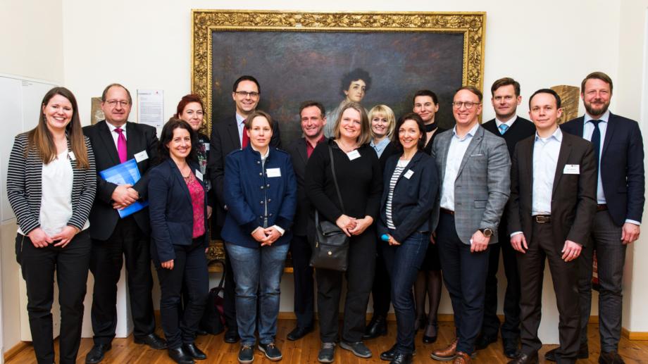 Mitglieder der Tagungsallianz Jena © JenaKultur, Foto: Christoph Worsch