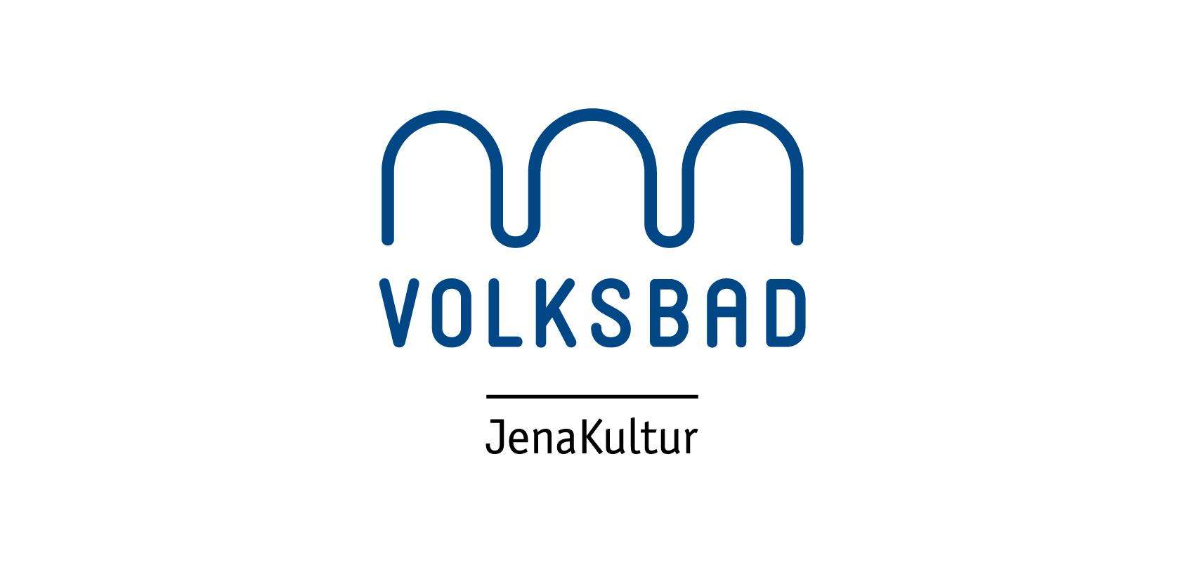 Logo des Volksbads Jena - Mitglied der Tagungsallianz Jena © JenaKultur