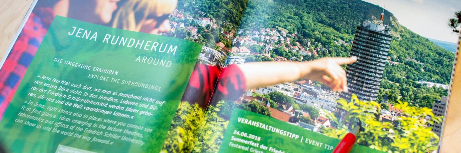 Broschüre zum Tagen in Jena - Downloads © JenaKultur, Foto: Christoph Worsch