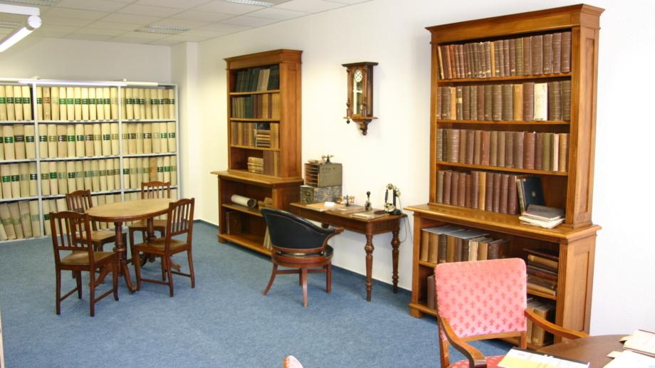 Historisches Prüferzimmer im Deutschen Patent- und Markenamt in Jena - Fachbesuch Jena