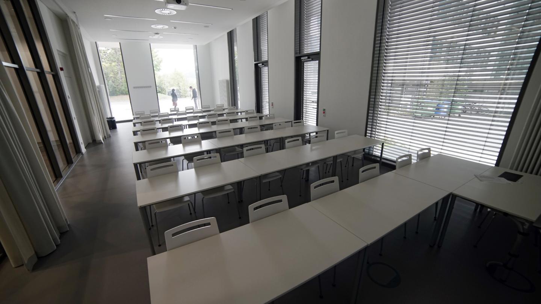 Location-Portrait: Seminarraum 1 im Abbe Center of Photonics © Abbe Center of Photonics, Foto: Jan-Peter Kasper/FSU
