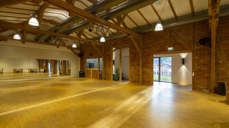 Saal der Tanzschule führbar, Saalseite 1 ©Tanzschule führbar, Foto: Christoph Beer